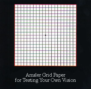 Amsler Grid Test.